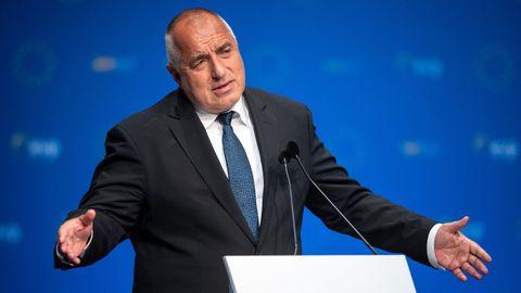Boiko Borisov en mayo del 2019