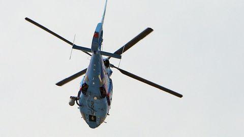 Imagen de archivo de un helicóptero de Aduanas