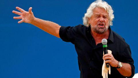 Beppe Grillo en una imagen de octubre del 2018