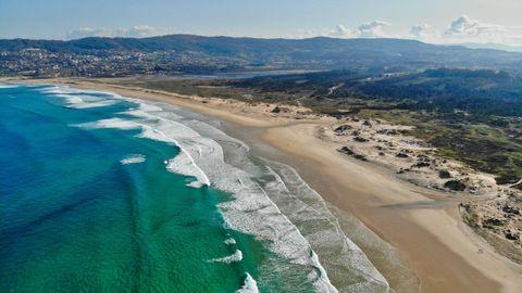 3. Playa de A Frouxeira. 189 votos.