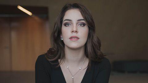 La soprano compostelana Rosalía Cid.