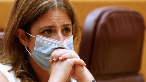 La vicesecretaria general del PSOE, Adriana Lastra, en una imagen de archivo.