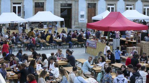 Imagen de archivo de la Fiesta de la Cerveza en Ferrol