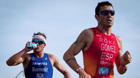 Gómez Noya es cinco veces campeón del Mundo en distancia olímpica. Ya fue plata en Londres 2012.