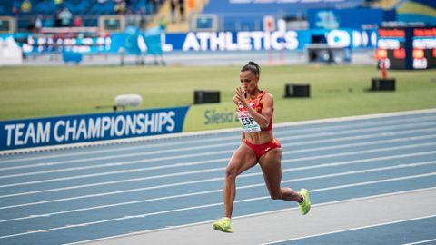 Ana Peleteiro debuta en unos Juegos. Su capacidad competitiva le avala para todo en triple salto.
