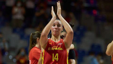 Raquel Carrera. La mejor española en un draft de la WNBA, pilar en una selección que aspira al podio.