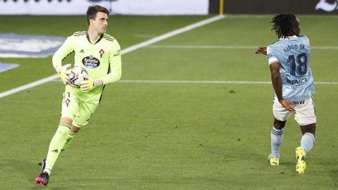 Iván Villar. El céltico es portero de una selección plagada de semifinalistas de la Eurocopa.