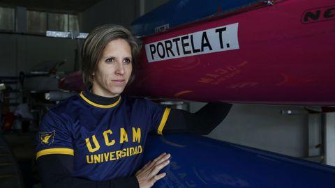 Teresa Portela. Con 39 años, disputará sus sextos Juegos. Nunca una española acudió a tantos. Opción de podio en K1 200.