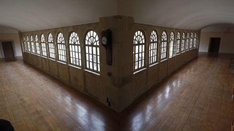 Claustro del piso de las habitaciones de los frailes
