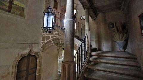 Patio interior de la residencia de los frailes