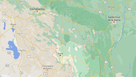 El trágico accidente se produjo en un autobús que cubría la ruta entre Potolo y Sucre, en el sur de Bolivia