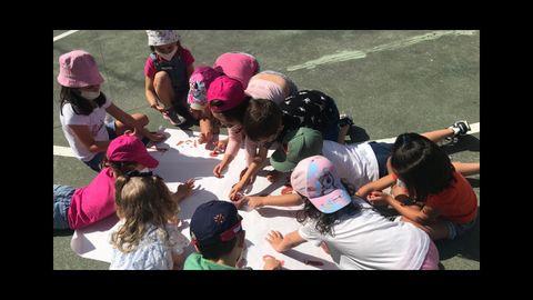 Campamento de verano en el colegio Divina Pastora