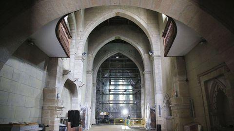 En la iglesia de San Pedro se han invertido 760.000 euros