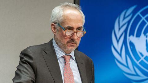 El portavoz de la Secretaría General de la ONU, Stéphane Dujarric