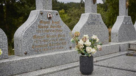 Cementerio de A Merca, donde descansan Miguel Ángel Blanco y sus padres