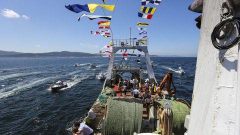 La procesión marítima del 2019