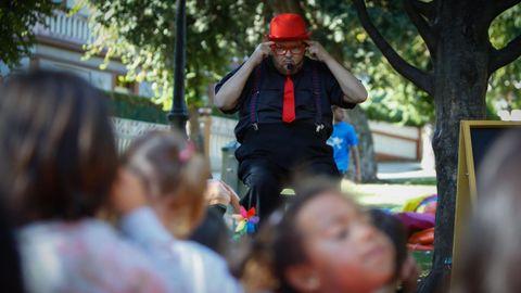 Pedro Brandariz en las fiestas de Monte Alto