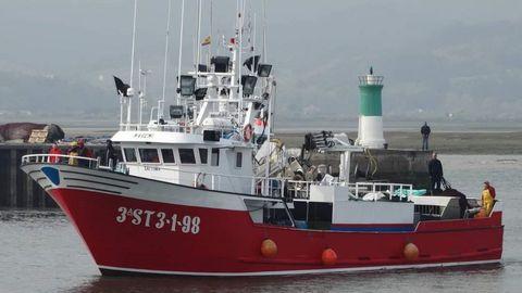 Barco Maremi de Santoña, imagen de archivo