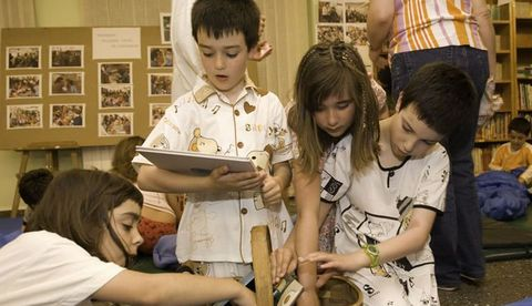 Lendo Contigo, organizado por la Asociación Espazo Lectura, ha sido un regalo para los niños de Gondomar