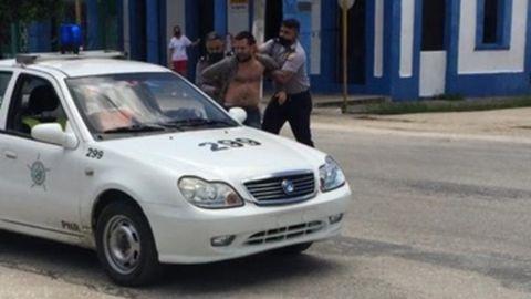 Arian González fue arrestado, presumiblemente el lunes 12 de julio, en la provincia de Villa Clara (Cuba)