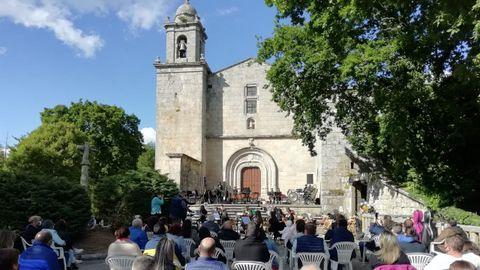 Imaxe dun concerto da Agrupación Musical da Limia o pasado mes de maio