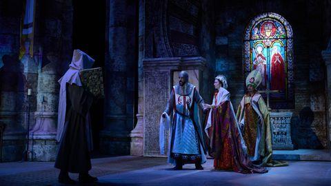 Escena del espectáculo El último cantar
