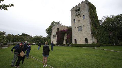 La entrega de medallas se celebrará en los jardines del pazo, que están abiertos a las visitas del público.