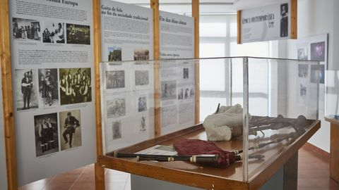 El museo de la Gaita de Fole  se encuentra en Barbadás