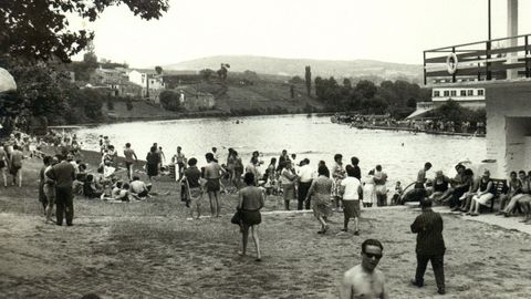 Las familias acostumbraban a ir los fines de semana para el Fluvial a disfrutar del río