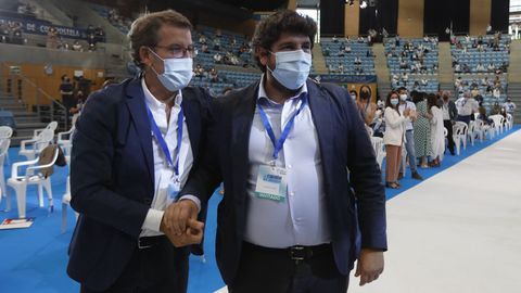 El presidente murciano Fernando López Miras