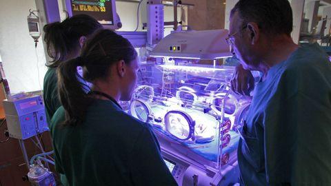 Unidad de neonatología del Hospital Clínico de Santiago