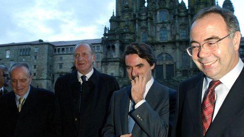 La última reunión del Real Patronato da Cidade de Santiago se celebró a principios de diciembre del 2003