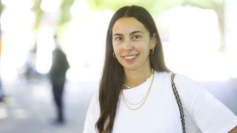 María Pereira | Audiovisual | Realiza un «collage» de elementos icónicos porque «varía a imaxe de Carballo en cada un, pero existe o imaxinario común».