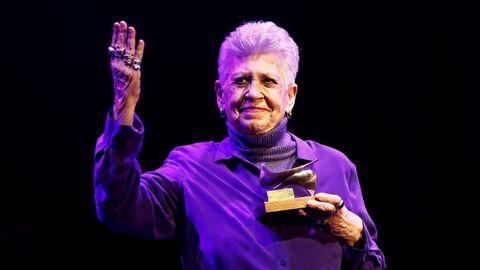 Pilar Bardem en marzo del año pasado durante la entrega de los Premios de la Unión de Actores y Actrices