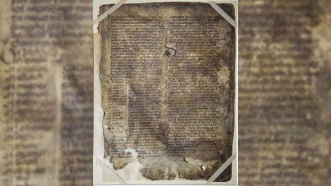 Una de las páginas del Libro de las Invasiones.