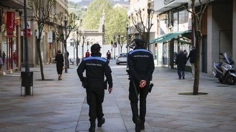 Policías locales