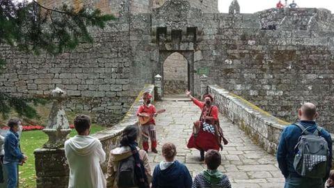 Representación en el Castillo de Soutomaior