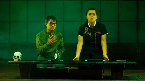 Guillermo Carbajo e Sheyla Fariña son os protagonistas e promotores da peza