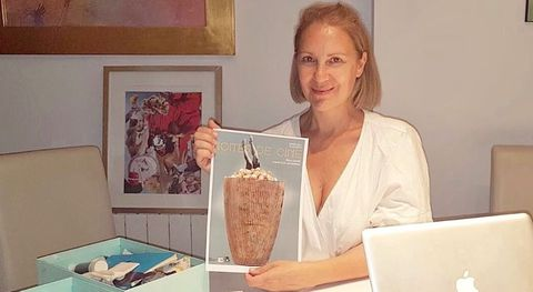 Carmen Dacal es la autora del cartel de las Noites de Cine de O Barco