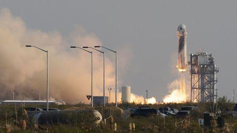 Despegue del cohete