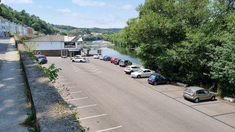 El aparcamiento del Fluvial en la actualidad