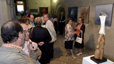 Imagen del primer Salón de Otoño celebrado en Sarria en el 2005