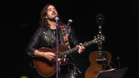 Andrés Suárez, en el concierto que ofreció recientemente en el Auditorio Mar de Vigo