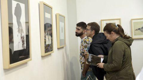 Imagen de archivo de una exposición de obras que concurrieron al Premio Atlante