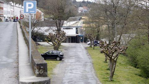 El aparcamiento del Fluvial en el año 2014, antes de la obra de reforma