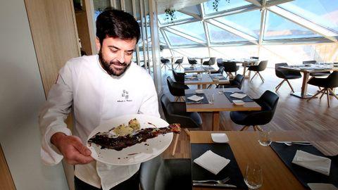 El restaurante estrella Michelin Silabario (Vigo)