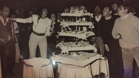 Una imagen de la fiesta que se dio cuando la discoteca cumplió 25 años