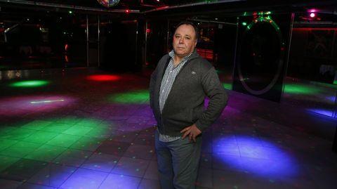 Malleiro, en el año 2018, en la pista de la discoteca Daniel