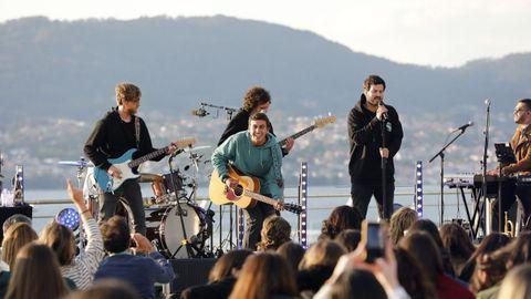 Taburete, a mediados del mes pasado en el Festival TerraCeo de Vigo