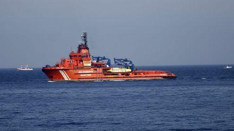 Imagen de archivo de un remolcador de Salvamento Marítimo